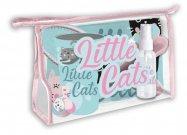 Kozmetička torba EUROSWAN opremljena mačkama Poliester, PVC, 23x15x8 cm Igračke i oprema - Nakit, pribor