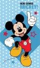 DETEXPOL Dječji ručnik Mickey stars Pamuk - frotir, 50/30 cm Ručnici, ponchos, ogrtači - Ručnik 50x30 cm