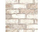 Vinilna periva tapeta bež cigle 5522-01, 0,53 x 10 m | Ljepilo besplatno Na skladištu
