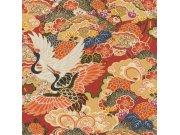 Flis periva tapeta po japanskom uzorku Kimono 409345 | Ljepilo besplatno Rasch
