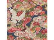 Flis periva tapeta tapeta po japanskom uzorku Kimono 409352 | Ljepilo besplatno Rasch
