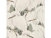 Flis periva tapeta tapeta po japanskom uzorku Kimono 409543 | Ljepilo besplatno Rasch