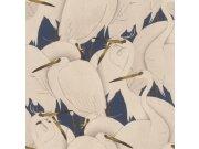 Flis periva tapeta tapeta po japanskom uzorku Kimono 409550 | Ljepilo besplatno Rasch