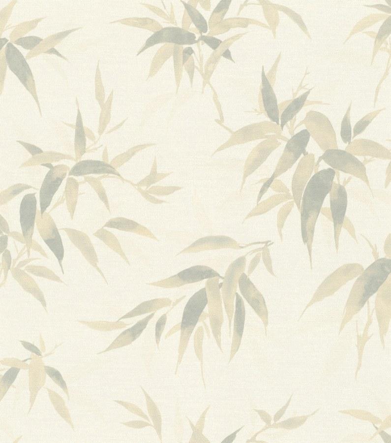 Flis periva tapeta Lišće Kimono 409741 | Ljepilo besplatno - Rasch