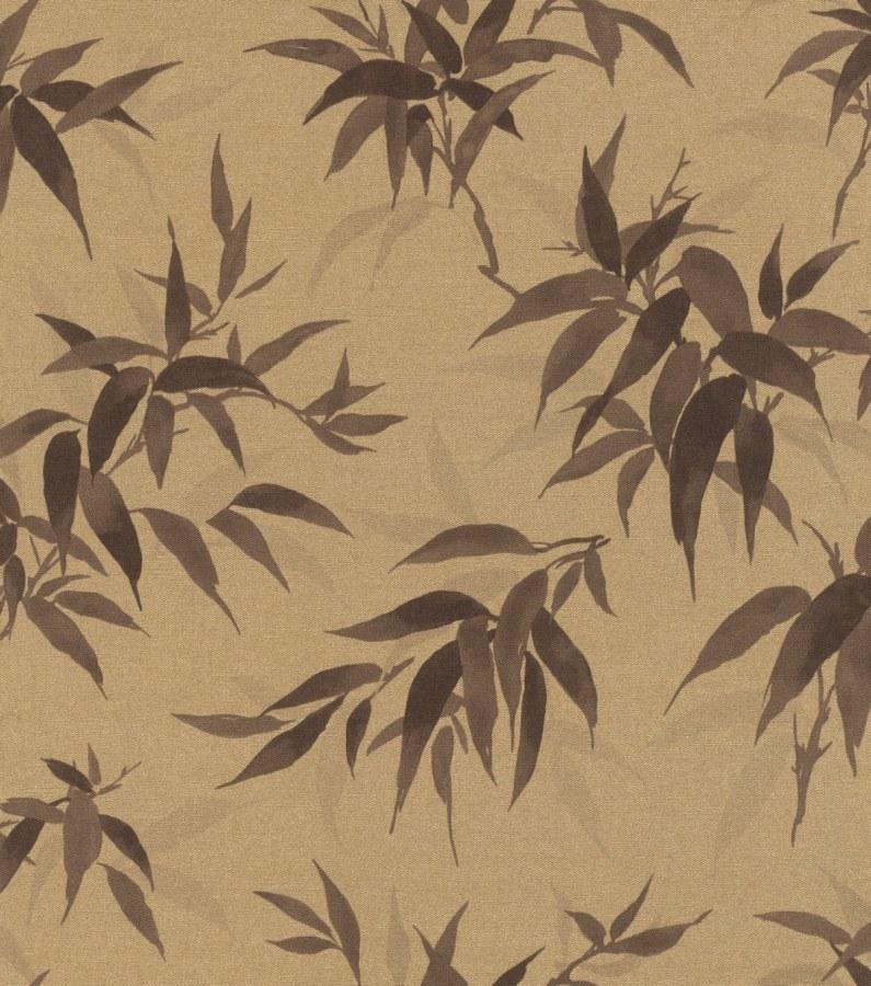 Flis periva tapeta Lišće Kimono 409765 | Ljepilo besplatno - Rasch