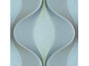 Luksuzna geometrijska flis tapeta H66061 | Ljepilo besplatno Na skladištu