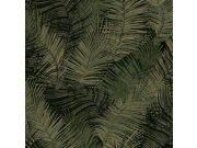 Flis periva tapeta lišće L93404 | Ljepilo besplatno Na skladištu