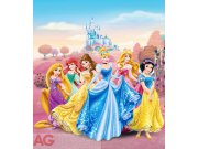 Flis foto tapeta AG Princeze v dvorcv FTDNXL-5113 | 180x202 cm Foto tapete