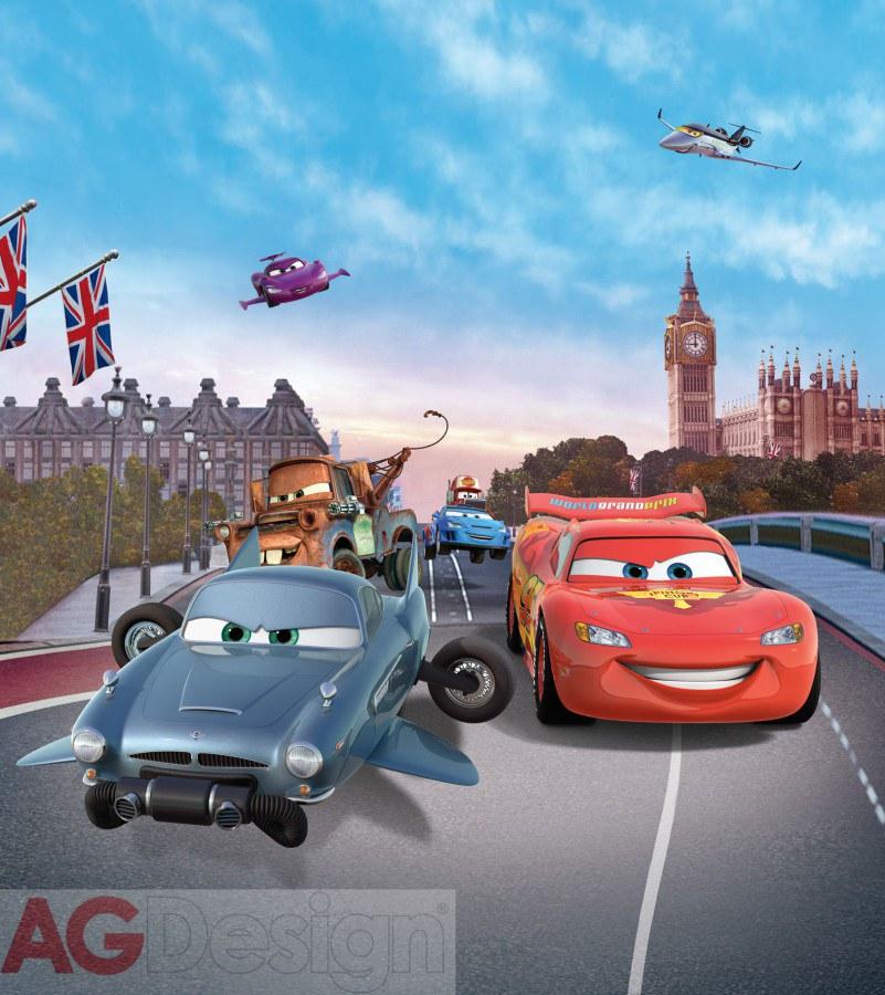 Flis foto tapeta AG Cars v Londonv FTDNXL-5103 | 180x202 cm - Foto tapete