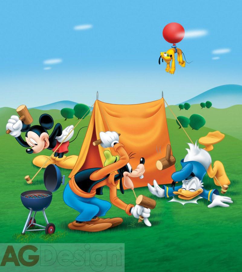 Flis foto tapeta AG Mickey Mouse FTDNXL-5107 | 180x202 cm - Foto tapete
