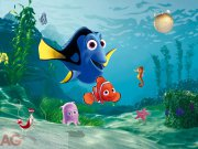 Flis foto tapeta AG Nemo FTDNXXL-5018 | 360x270 cm Foto tapete