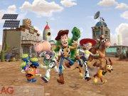 Flis foto tapeta AG Toy Story FTDNXXL-5021 | 360x270 cm Foto tapete