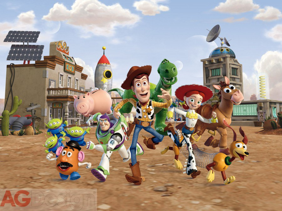 Flis foto tapeta AG Toy Story FTDNXXL-5021 | 360x270 cm - Foto tapete