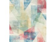 Retro grafička flis tapeta Linares 617979, 0,53 x 10 m | Ljepilo besplatno Rasch