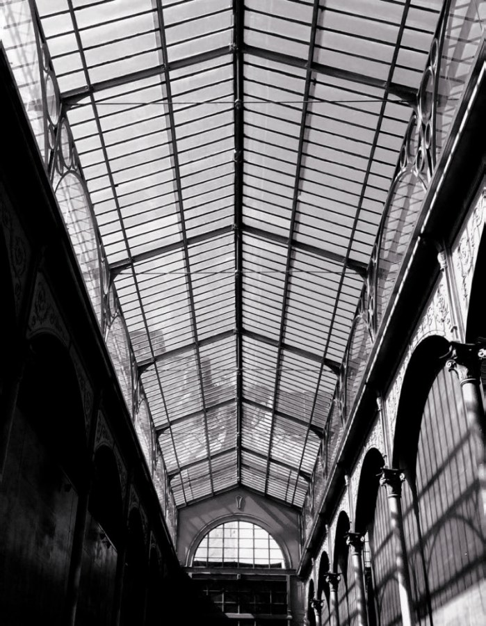 Luksuzna flis foto tapeta Factory IV 940923, 2,32 x 3 m | Ljepilo besplatno - Rasch