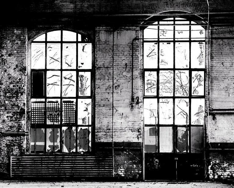 Luksuzna flis foto tapeta Factory IV 940930, 3,72 x 3 m | Ljepilo besplatno - Rasch