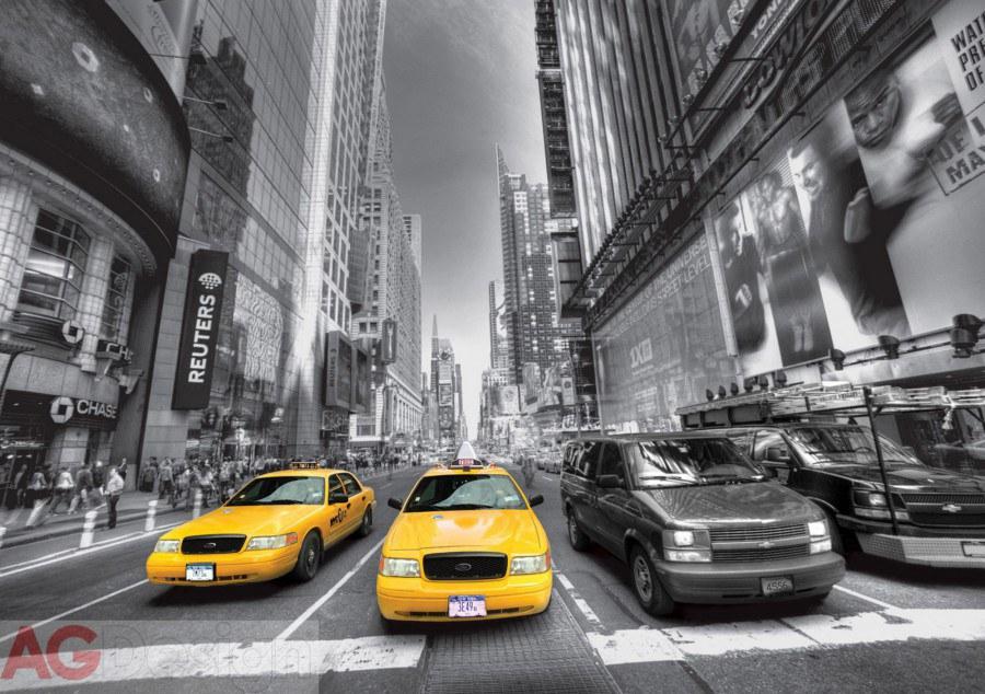 Foto tapeta AG Žvti taxi FTS-1310 | 360x254 cm - Foto tapete