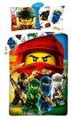 HALANTEX Posteljina Lego Ninjago pamuk, 140/200, 70/90 cm Posteljina sa licencijom