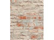 Flis tapeta stara ciglova zid Aldora III 649420, 0,53 x 10 m | Ljepilo besplatno Na skladištu