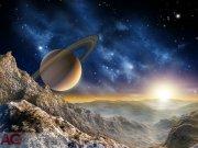Flis foto tapeta AG Saturn FTNXXL-1126 | 360x270 cm Foto tapete