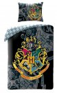 HALANTEX Posteljina Harry Potter crni Pamuk, 140/200, 70/90 cm Posteljina za mlade