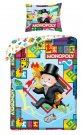 HALANTEX Posteljina Monopoly Cotton, 140/200, 70/90 cm Posteljina za mlade