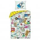 HALANTEX Posteljina u vrećici Monopoly Go Cotton, 140/200, 70/90 cm Posteljina za mlade