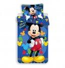 Posteljina Mickey plava 03 mikro 140/200, 70/90 Posteljina sa licencijom
