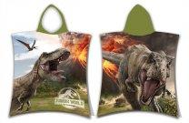 TEKUĆE JERRY Poncho Jurassic World Volcano Cotton - Terry, 50/115 cm Ručnici, ponchos, ogrtači - ponchos