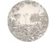 Kružna flis foto tapeta 300422, promjer 145 cm | Ljepilo besplatno BN International