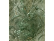 Luksuzna periva flis foto tapeta 300411 DX, Palme, lišće, 250x280cm | Ljepilo besplatno BN International
