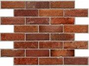 3D zidni PVC panel crvena cigla klasična 3D zidni paneli