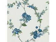 Luksuzna flis tapeta s cvjetnim uzorkom FT221213 | , 0,53 x 10 m | Ljepilo besplatno Na skladištu