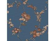 Luksuzna flis tapeta s cvjetnim uzorkom FT221215 | , 0,53 x 10 m | Ljepilo besplatno Na skladištu