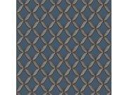 Luksuzna plava flis tapeta s teksturom tkanine FT221227 | , 0,53 x 10 m | Ljepilo besplatno Na skladištu