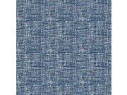 Plava flis tapeta imitacija grubo tkanine FT221250 | , 0,53 x 10 m | Ljepilo besplatno Na skladištu