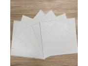 Samoljepljive vinil podne pločice bijela struktura 1m2 Samoljepljive podne obloge