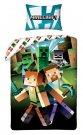HALANTEX Posteljina Minecraft zombi pamuk, 140/200, 70/90 cm Posteljina za mlade
