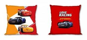 FARO Navlaka za jastuke Automobili Love Racing Cotton, 40/40 cm Jastučići - pokrivači za jastuke