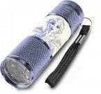 EUROSWAN Dječja aluminijska LED svjetiljka Ice Kingdom Elsa Ice Aluminij, plastika, 9x2,5 cm Igračke i oprema - svjetiljke i svjetiljke