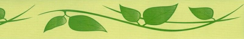 Samoljepljiva bordura Zeleni plahtaovi SB02-406, 5 cm x 10 m - Samoljepljive bordure