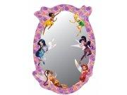 Dječje naljepnice ogledalo Fairies DM-2104, 15x22 cm Naljepnice za dječju sobu