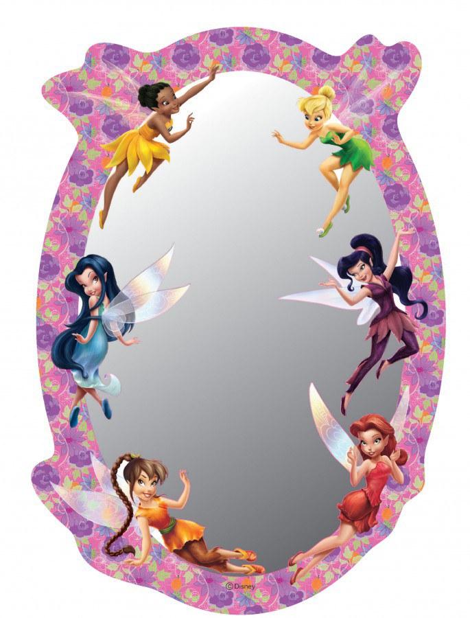 Dječje naljepnice ogledalo Fairies DM-2104, 15x22 cm - Naljepnice za dječju sobu