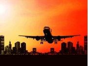 Flis foto tapeta AG Noćni avion FTNXXL-0447 | 360x270 cm Foto tapete