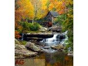 Flis foto tapeta AG Water mill FTNXL-2503 | 180x202 cm Foto tapete