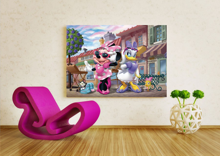 Flis foto tapeta AG Minnie a Daisy FTDNM-5228 | 160x110 cm - Foto tapete