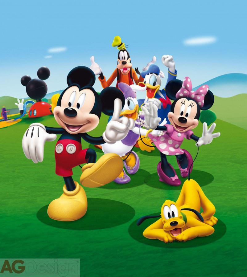 Flis foto tapeta AG Mickey Mouse FTDNXL-5131 | 180x202 cm - Foto tapete