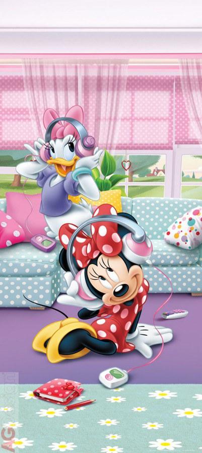 Flis foto tapeta AG Minnie & Daisy FTDNV-5459 | 90x202 cm - Foto tapete