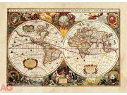 Flis foto tapeta AG World map FTNM-2630 | 160x110 cm Foto tapete