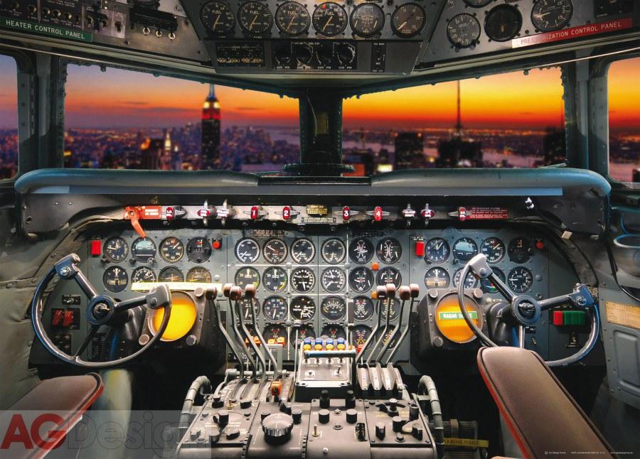 Flis foto tapeta AG Plain cabine FTNM-2609 | 160x110 cm - Foto tapete